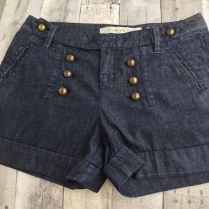 ANTHRO Daughters of the Liberation denim shorts